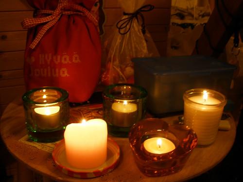 Attic candles