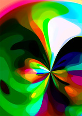 Colourswirl 1 by Studio Parris Wakefield (Studio Parris Wakefield) Tags: abstract color colour modern digital photoshop contemporary multicolor multicolour parriswakefield