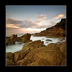 Wreck Beach (Peter Anthony) Tags: ocean blue sky seascape beach sunrise bay harbor nikon flickr seascapes harbour award australia nelsonbay wreckbeach d300 sigma1020mm peteranthony