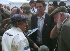 Goodwood Revival 2009 Sir Jackie Stewart in conversation (74Mex) Tags: jackie stewart sir 2009 goodwood revival