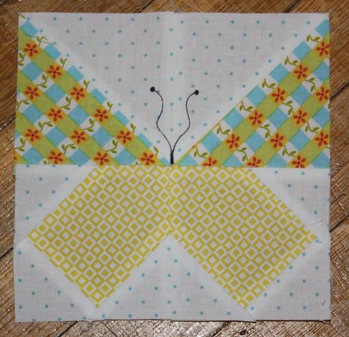 Terrie's Butterfly Block2