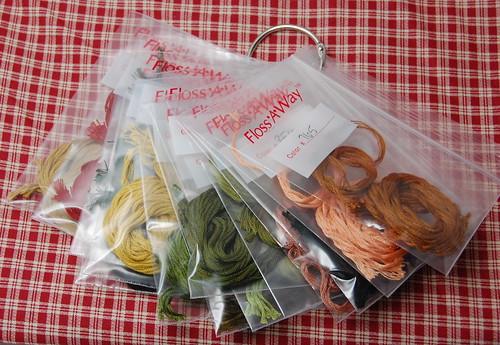 Floss-A-Way bags