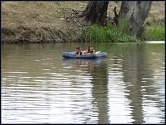 'Floating on the River'... ConFest 2009 (larryoien) Tags: confest laza45 larryoien