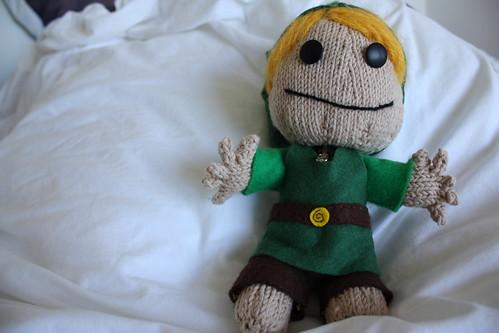 Link Sackboy