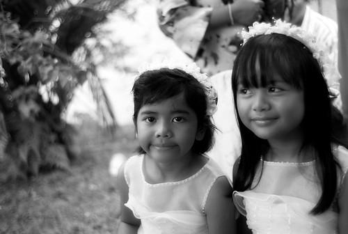 2 Flower Girls