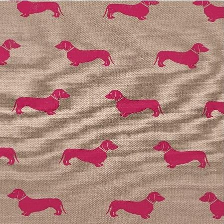 Emily Bond dachshund tea towel