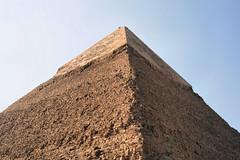 Pyramids at Giza 33 (ruthhallam) Tags: africa building triangle pyramid tomb egypt cairo pharaoh giza wonderoftheworld ancientworld