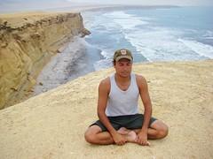 Meditação (Fabrício Zen SurF) Tags: peru paracas meditação