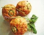 Priya's Cheesy Corn Muffins
