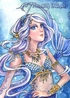 aceo Mermaid Dancer