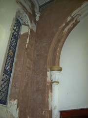 Church Wall Repaired