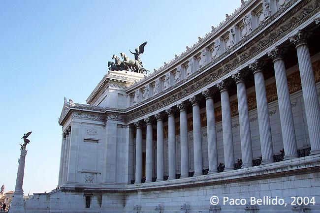 Monumento a Vittorio Emanuele II. � Paco Bellido, 2004