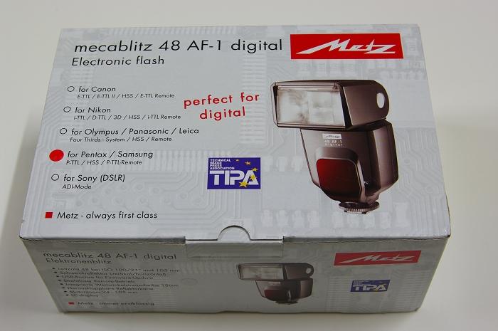 Metz 48 AF-1 for Pentax 閃光燈開箱與評測