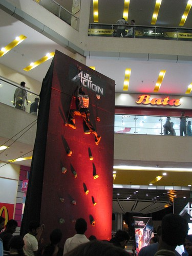 Artificial Climbing Wall Bangalore 5