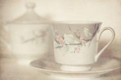 Porcelain - 94/365 (Meg Brooke) Tags: tea sugar cups jar porcelain usingphotoshopforthefirsttimeinmonths