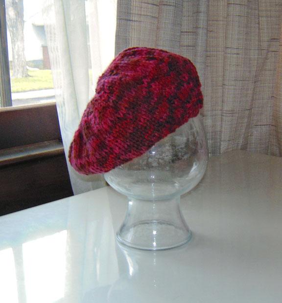 Aran Slouchy Hat