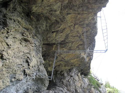 Klettersteig Schweiz : Höhenglücksteig in der fränksichen schweiz klettersteig via