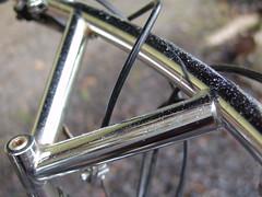 Bullmoose bars (BikeTinker) Tags: raleigh chromed vintagemountainbike bullmoosehandlebar leatherbimsaddle
