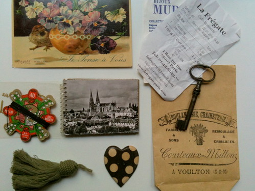 paris flea market treasures