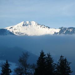 Above the mist (Rosmarie Wirz) Tags: blue mist mountain switzerland travels sceenery stanserhorn emmetten unterwalden mywinners platinumphoto anawesomeshot swisslandscape concordians vanagrammofon updatecollection gettyimagessalq2
