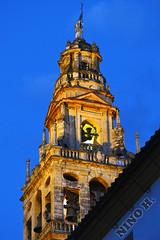 Torre da Catedral-Mezquita - Cordoba - Espaa (Nino H) Tags: old espaa architecture spain construction torre tour cathedral religion andalucia cathdrale cordoba mezquita espagne espagna mywinners andalucie cordue