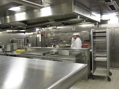 Celebrity Solstice kitchen