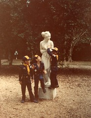 Me, groping the breasts of a naked statue on a Cub Scout field trip (G. J. Charlet III) Tags: statue fieldtrip cubs stfrancisville scouting grope cubscouts bsa boyscoutsofamerica oakleyplantation