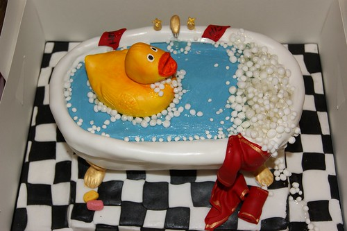 Jason's Duck Birthday Cake