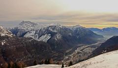Valle del Piave/2 (mauro742) Tags: winter panorama snow nature fog landscape valle natura neve nebbia inverno montagna toc montain paesaggio dolomites belluno piave prealps prealpi visentin dolada dolomitidoltrepiave