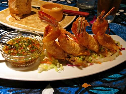 shrimp wontons