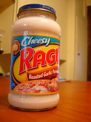 Ragu four cheese white sauce