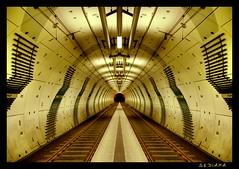 platform no. 1 or 2 ? (sediama (break)) Tags: germany subway geotagged essen metro pentax platform ubahn mirrored ruhrgebiet soe gleise karlsplatz gespiegelt europeancapitalofculture2010 mywinners k20d sediama unusualviewsperspectives ©bysediamaallrightsreserved