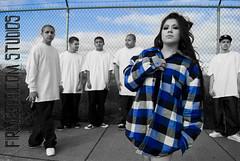 Firme509.com Studios loves Dolly Menace (esafirmehyna.com) Tags: blackandwhite fence purple cholos longhair monica flannel sunnyside gangsta pinup gangs pasco chola gangstas bgl pelon cholas f13 surenos pelones lokotes dollymenace firme509comstudios