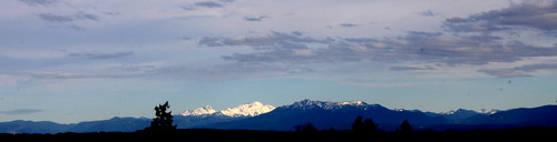 Mt. Baker from Norway Hill