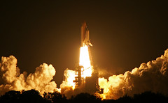 Space shuttle Endeavour launch