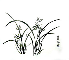A1 (Master Fine Art Cheung) Tags: painting chinese calligraphy fusion waterart colorart whitepainting