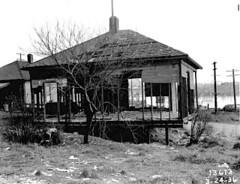 Wallingford house after fire, 1936 (Seattle Municipal Archives) Tags: seattle fire 1930s fires wallingford disasters seattlemunicipalarchives
