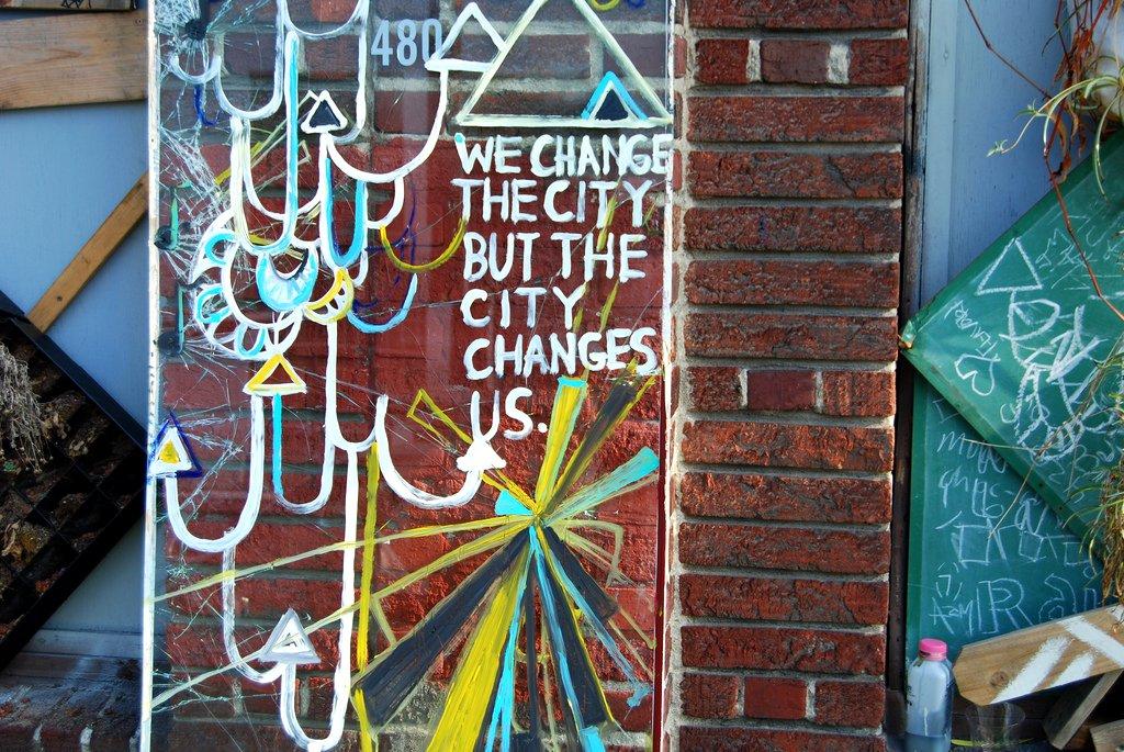 Konstantin Street Art Oakland, California.