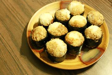 Vegetarian Onigiri - OM NOM NOM