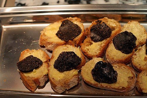 truffle toasts