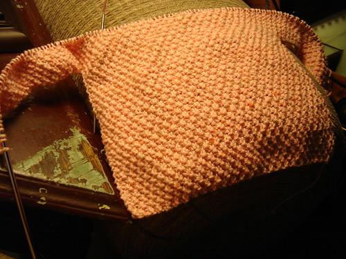 Baby sweater start