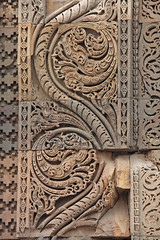 Mehrauli Archaeological Park (ejhrap) Tags: india stone sandstone delhi pillar mosque carving scroll intricate mehrauli odt archaeologicalpark