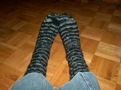 Rocky Butte Socks - Done (Alynxia) Tags: socks knitting lv kal