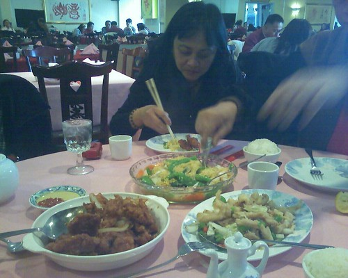 Valentine Lunar New Year lunch at Jasper Chinese restaurant.