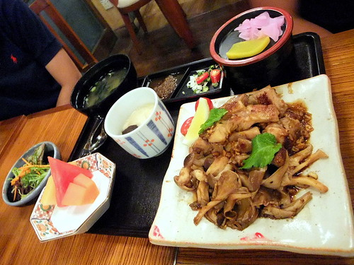 Chicken Teppanyaki Set