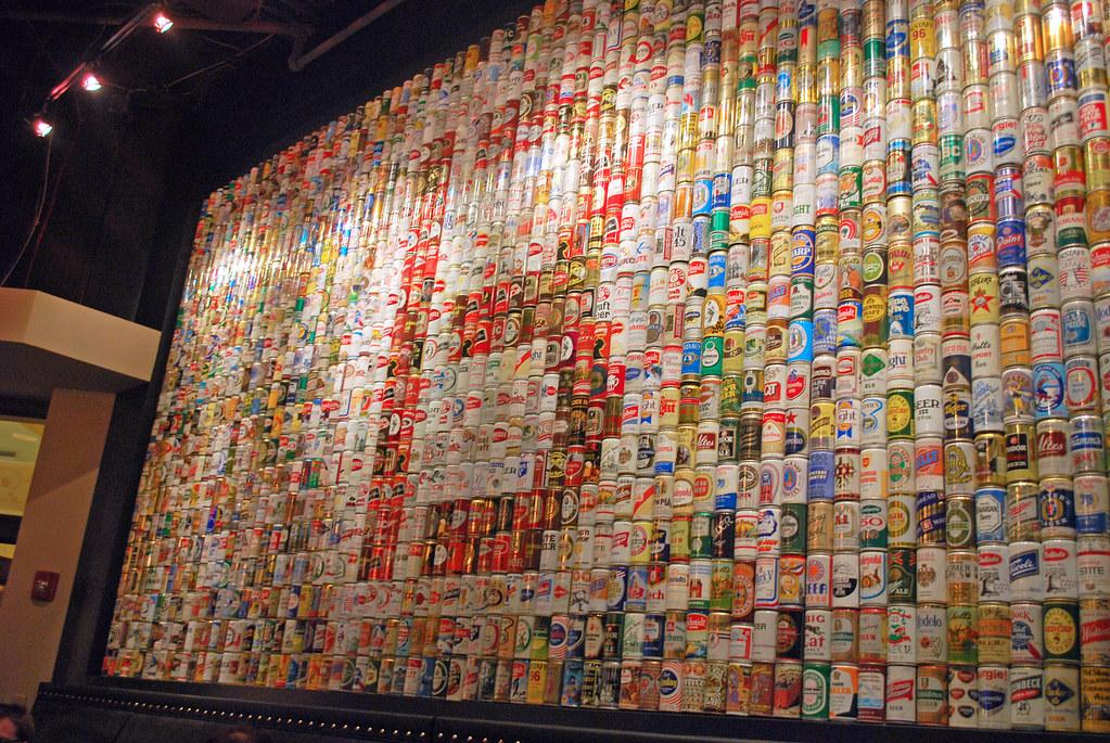 BSpot Beer Can Mural