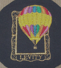 Levity Balloon (fatslick70) Tags: hot newmexico thread hoop embroidery sewing air balloon craft hobby needle stitches 40 digitizing backing ackerman amann wilcom enbroidery isacord barudan 4head levityballoon isafil