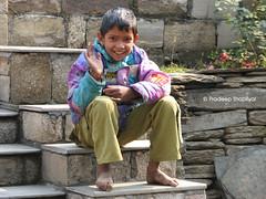 Children from Village, Jageshwar, Uttrakhand (Pradeep Thapliyal) Tags: india mountain children temple child outdoor candid almora uttranchal jageshwar uttrakhand jageshwartemple
