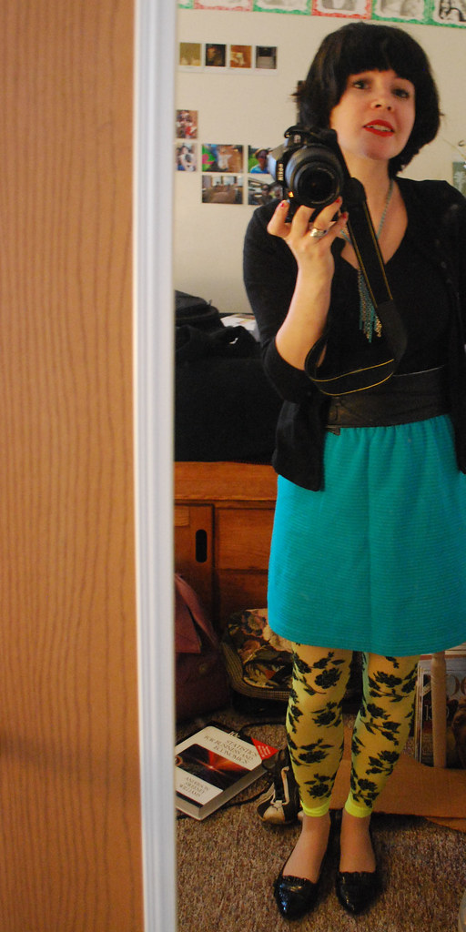 flea market finds: Vintage Skirt