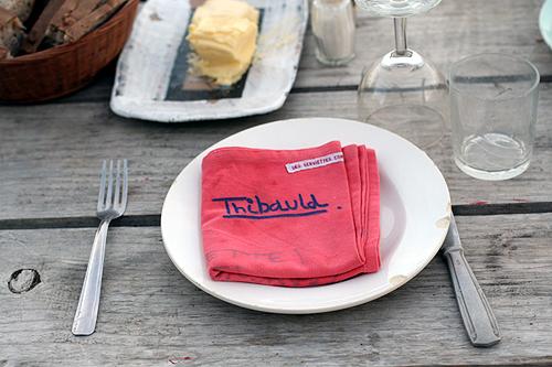 thibaud's napkin